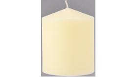 """3 1/2"""" Ivory Pillar Candle image"""