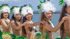 Image of a Hawaiian Dancers - 20 minute show