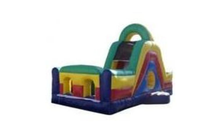 Picture of a 20' Backyard Obstacle Course