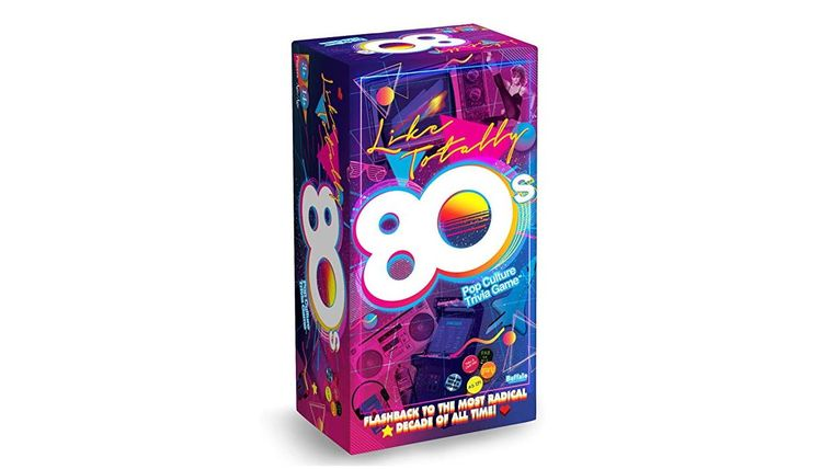 Picture of a 80's Trivia Game