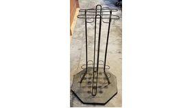 Image of a Pool Stick Rack