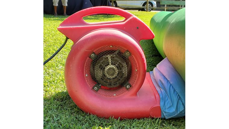 Picture of a Red Blower