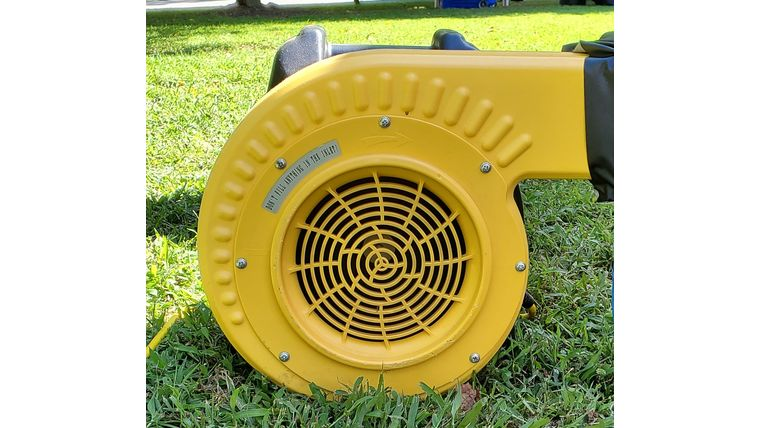 Picture of a Yellow Blower