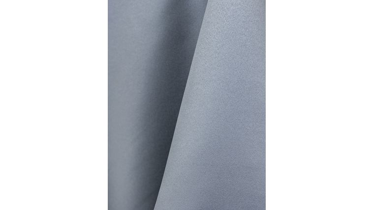 Picture of a 12X108 Silver Lamour Satin Table Runner