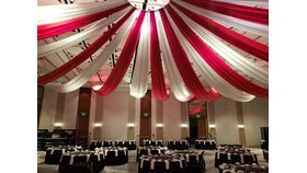 Image of a Circus Tent Ceiling Treatment