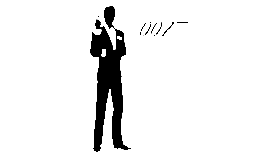 Image of a James Bond Movie Posters