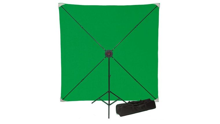 Picture of a 8x10 PXP Pro Portable Green Screen