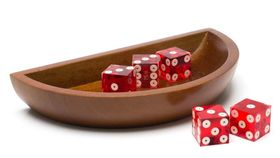 Image of a Craps Dice Boat with Dice