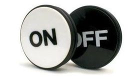 Image of a Craps On/Off Buttons