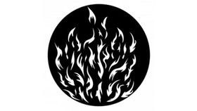 Image of a ADJ Breakup Camp Fire Gobo