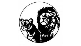 Image of a ADJ Lion Pair Gobo
