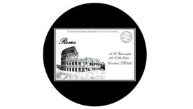 Image of a ADJ Rome Postcard Gobo - Hi Res