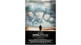 Image of a Giant Saving Private Ryan Movie Poster