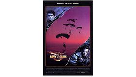 Image of a Giant Navy SEALs Movie Poster