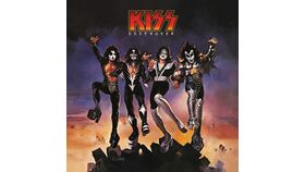 Image of a Giant KISS Destroyer Album Cover