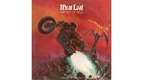 Image of a Giant Bat Out Of Hell Album Cover