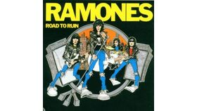Image of a Giant Ramones Road to Ruin Album Cover