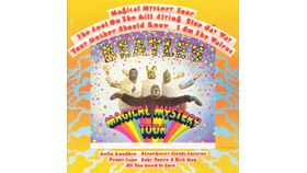 Image of a Giant Beatles Magical Mystery Tour Album Cover