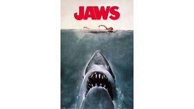 Image of a Giant Jaws Movie Poster