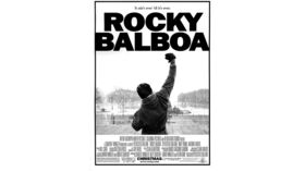 Image of a Giant Rocky Balboa Movie Poster