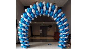 Image of a ODU Balloon Arch