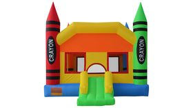 Image of a Crayon Castle Bouncer