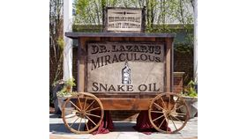 Image of a Dr Lazarus Miracle Snake Oil Show