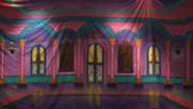 Image of a Arabian Ballroom Mural
