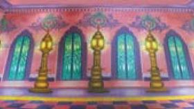 Image of a Arabian Ballroom Mural 2