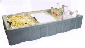 Image of a Cooler Tabletop open Chiller