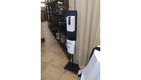 Image of a Hand Sanitizer Dispenser