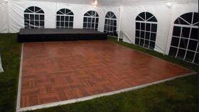 Image of a Cherry Parquet Dance Floor