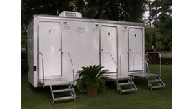 Image of a Restroom Trailer - 3 stall