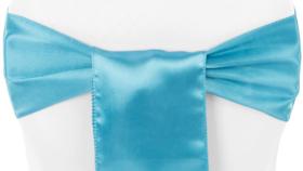 Image of a Aqua Blue Sash