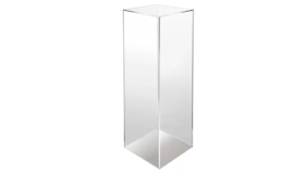 "Image of a 36"" Clear Acrylic Stands"