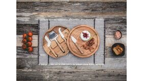 """Image of a Charcuterie Board 7"""" Round"""