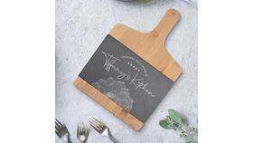 Image of a Charcuterie Board Bamboo + Slate