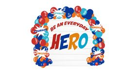Image of a Be an Everyday Hero Inspiration Wall