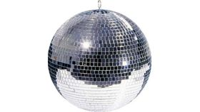 "Image of a Mirror Ball (20"")"