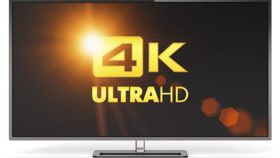 """Image of a 45"""" HD Monitor : includes 6' power cable and remote"""