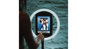 Image of a HaloBooth Selfie Photo Booth