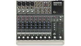 Image of a Mackie 1202 Mixer