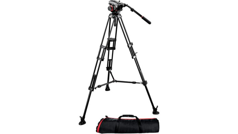 Picture of a Camera Tripod - Manfrotto