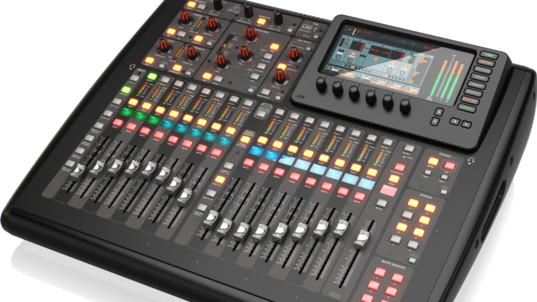 Picture of a Behringer X32 Compact