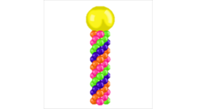 Image of a Classic Balloon Column