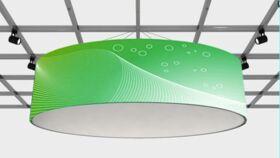 Image of a Hanging Signage - 15ft Circular Halo