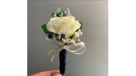 Image of a Floral - Wedding  Groom Boutonniere