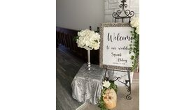 Image of a A Entry/ Bar Signage -Black & Silver - Classic
