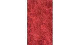Image of a Area Rug - Red Shag