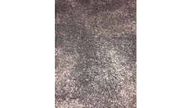 Image of a Area Rug - Charcoal Round Carpet